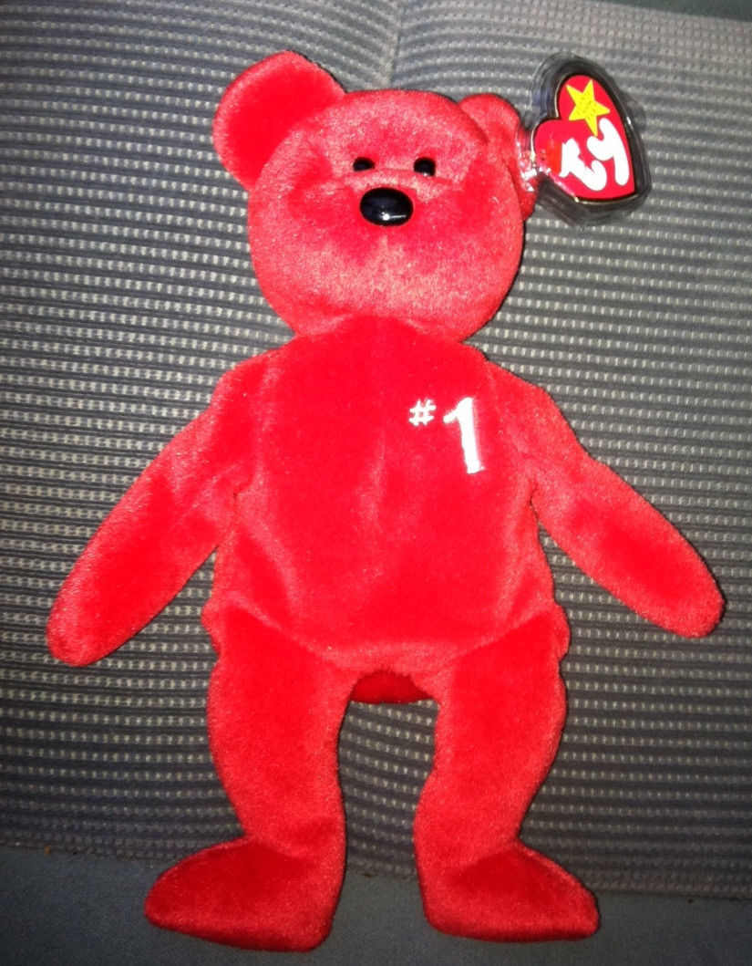 1 Employee Bear  Ty Beanie Babies – Love My Beanies b01e0197eb44