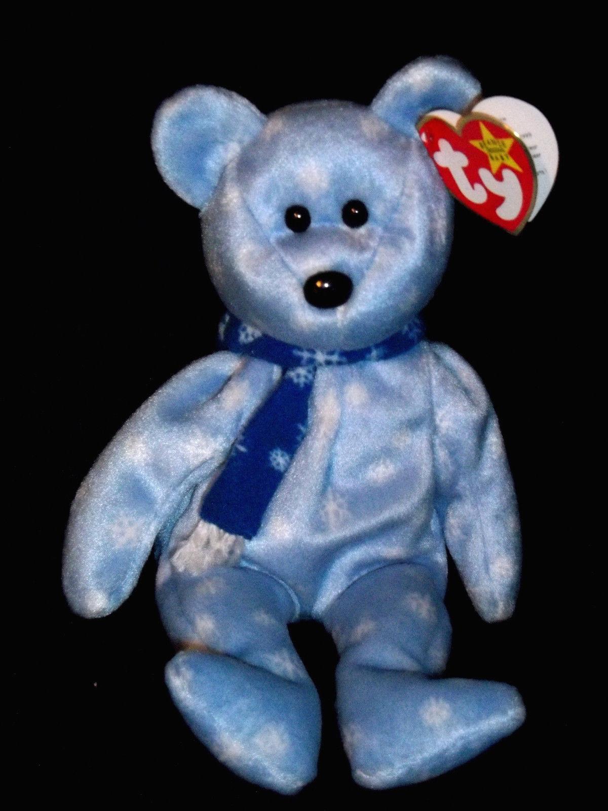 cb81eb540b8 1999 Holiday Teddy Bear  Ty Beanie Babies – Love My Beanies