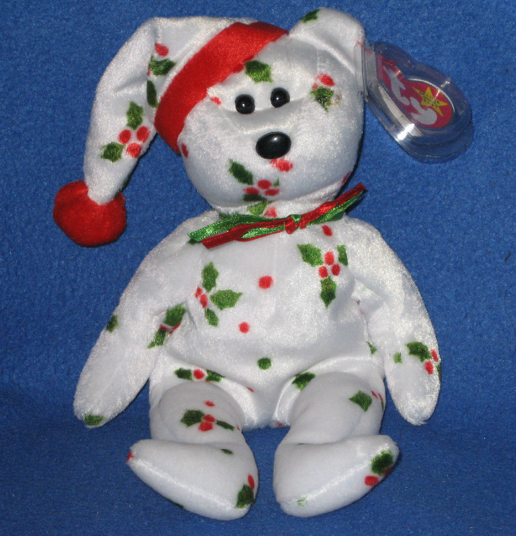 b3ed7baf1a1 1998 Holiday Teddy Bear  Ty Beanie Babies – Love My Beanies