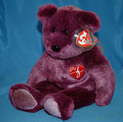 Ty Beanie Buddy 2000 Signature Bear