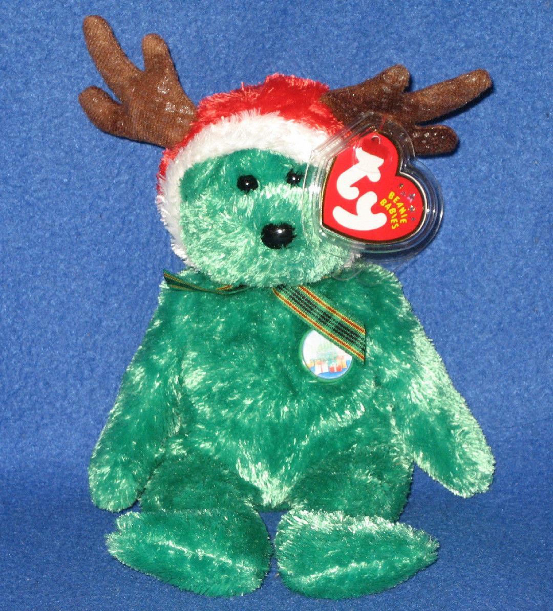 2002 Holiday Teddy Bear  Ty Beanie Babies – Love My Beanies b8cba2cf17bb