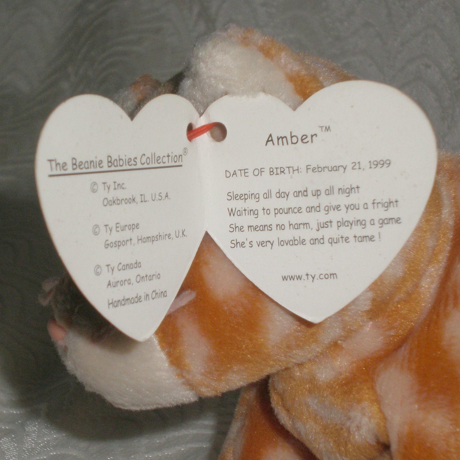 Amber Beanie Babies  Value Guide – Love My Beanies 73e27cd50410