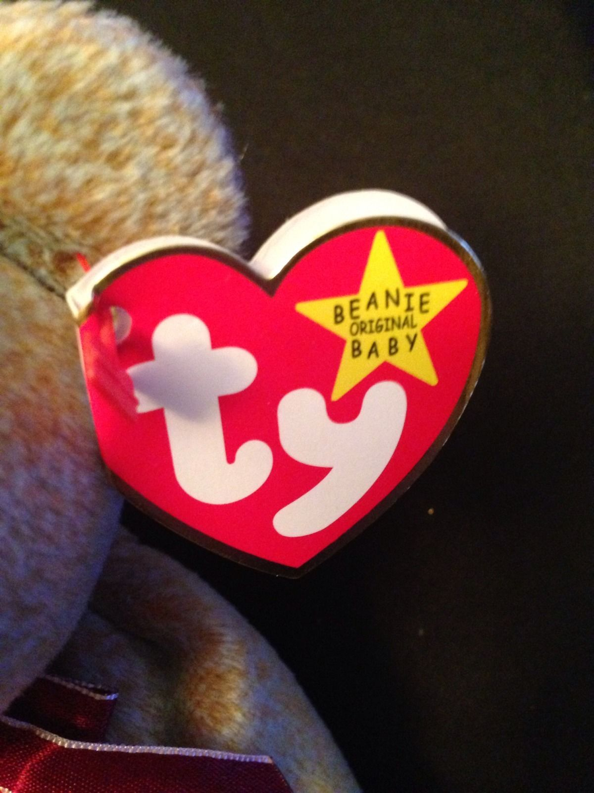 1999 Signature Bear  Ty Beanie Babies – Love My Beanies fdbc276a467